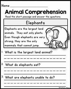 animal reading worksheets 14021 animal reading comprehension passages by kaitlynn albani tpt