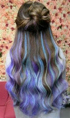 Blue Dyed Hair Dyed Hair Hair Hair Styles