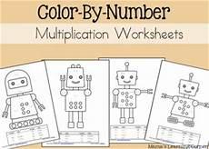 color by number multiplication worksheets 16097 free color by number worksheets prek 2 free homeschool deals