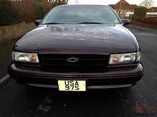 accident recorder 1996 chevrolet caprice security system 1996 chevrolet impala ss lt1 350 v8 44k fsh lhd caprice camaro corvette engine
