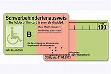 Unbefristet Ausgestellter Schwerbehindertenausweis