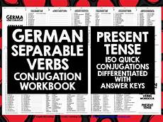 german revision worksheets 19710 german verbs german separable verbs present tense secondary gcse mfl revision verb