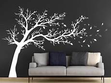 Wandtattoo Gro 223 Er Baum Im Wind Wandtattoos De