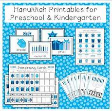 hanukkah printable activities for preschool and
