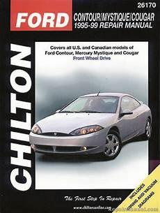 what is the best auto repair manual 1995 lexus gs spare parts catalogs chilton ford contour mystique cougar 1995 1999 repair manual