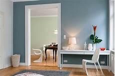 wand farbe wandfarbe blau wohnen blaues wohnzimmer blaue wandfarbe
