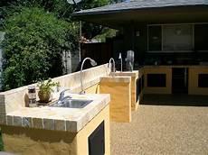 Tile Outdoor Kitchen