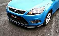 ford focus mk2 facelift front splitter ford focus ii facelift gloss black our