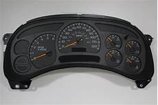 automotive repair manual 1993 chevrolet cavalier instrument cluster 03 04 buy complete fully rebuilt programmed gm truck cluster panel no exchange ebay