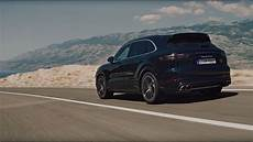 The New Porsche Cayenne Turbo In Motion
