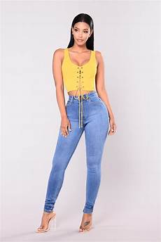 precious fit high waisted jean medium