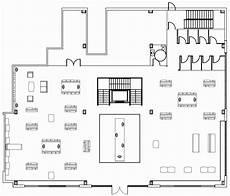 preliminary floor plan retail design