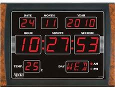 ajanta led digital wall clock olc 109