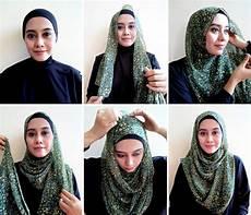 Hijabers Tutorial Sakinah Pashmina Chiffon