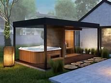 Garden Sauna Produced By Simon Wellness Whirlpool
