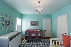 blue paint modern with accent wall bedroom