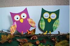 Herbst Basteln Kinder - eulen basteln aus papier kinderspiele welt de und andere