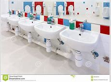 Preschool Washroom Royalty Free Stock Images   Image: 36342379