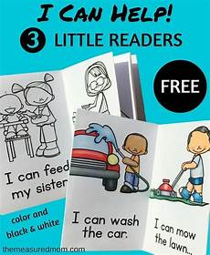 printable reading books for beginners free quot i can help quot printable books teaching reading