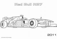 Ausmalbilder Rennauto Formel 1 Ausmalbilder Formel 1 Bull Met Afbeeldingen