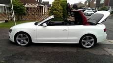 audi a5 cabriolet convertible 8f roof closing with one touch of button youtube