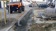 blockstufen setzen rand l steine blockstufen und terrassenbereich