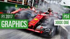 f1 2017 xbox one vs ps4 grafikvergleich graphics