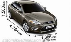 Ford Mondeo Dimensions 2011