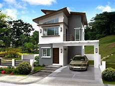 low cost simple two storey house design philippines jbsolis house