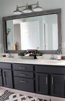 master bathroom mirror ideas diy rustic wood mirror frame tag tibby