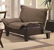 chair futon coaster microfiber futon chair bed w