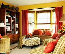 warm colors for fun loving harmonious interior color