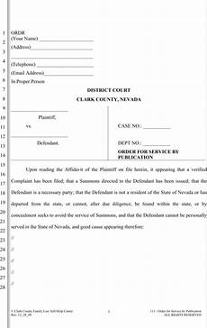 download nevada divorce papers for free formtemplate
