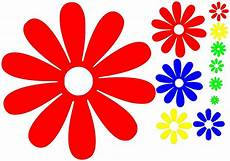 flowers flower power car sticker decal new vinyl