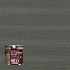 behr premium 8 oz st 131 pewter transparent waterproofing exterior stain and sealer