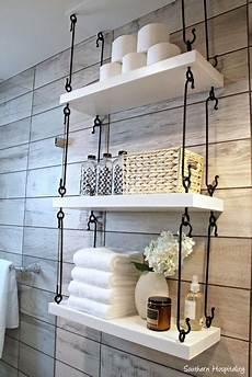 bathroom shelf ideas above 20 hanging shelves messagenote