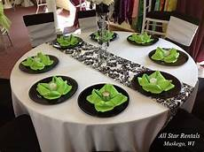black white and lime green wedding decorations white and black and lime green wedding table settings search ple lime green