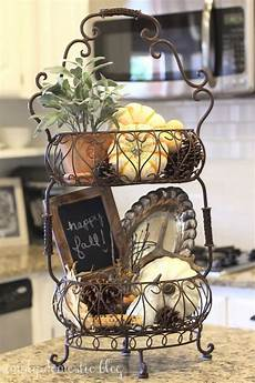 Kitchen Counter Gifts by Fall Decorations For The Kitchen The Wire Tiered