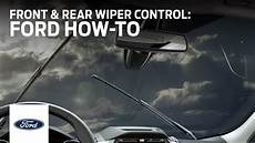 front and rear wiper stalk ford how to ford