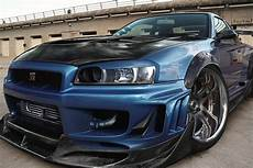 Nissan Skyline Gtr R34 Tuning Car Poster My Posters