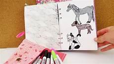 kreatives gestalten die schönsten ideen zum selbermachen tiere malen hund katze pferd malen im filofax