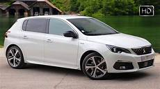 gt line 308 2018 peugeot 308 gt line facelift design overview driving footage hd