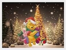 68 winnie the pooh christmas wallpaper wallpapersafari