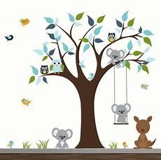 stickers arbre enfant b 233 b 233 cr 232 che mur stickers enfants chambre wall decor arbre avec