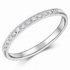 2mm palladium diamond eternity wedding rings palladium rings at elma uk jewellery