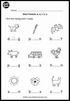 short vowels middle sounds worksheets and activities