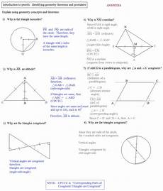 geometry proofs worksheets two column 921 geometry proving exercises with answers review of geometry a guided inquiry with home study