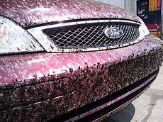 how to clean tar and bugs off your car