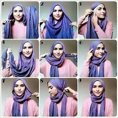 Tutorial Simple Tanpa Ciput Jilbab Gucci