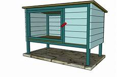 rabbit housing plans 10 free rabbit hutch building plans and designs the self